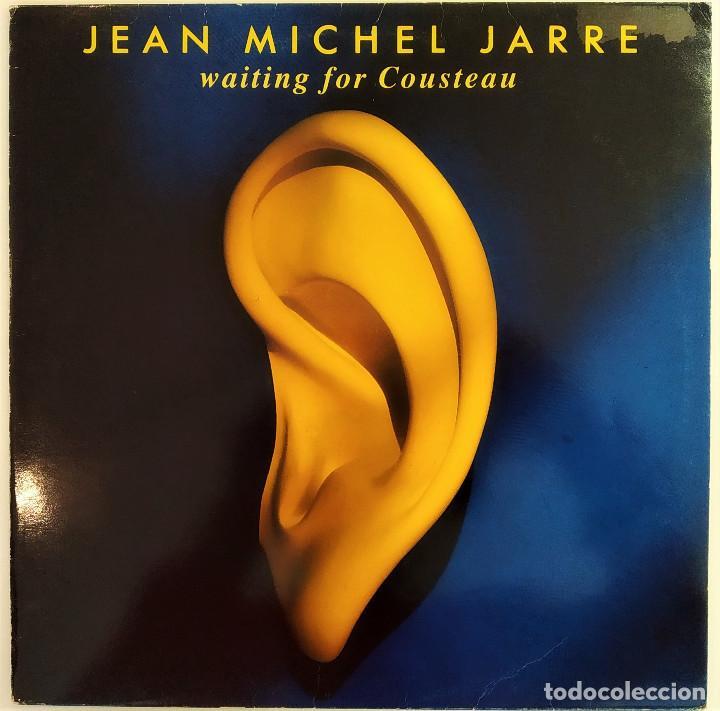 LP JEAN MICHE JARRE - WAITING FOR COUSTEAU, ESPAÑA 1990, POLYDOR – 843 614-1(VG+_EX) (Música - Discos - Singles Vinilo - Electrónica, Avantgarde y Experimental)