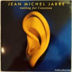 Discos de vinilo: LP JEAN MICHE JARRE - WAITING FOR COUSTEAU, ESPAÑA 1990, POLYDOR – 843 614-1(VG+_EX). Lote 194692876