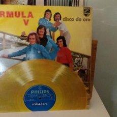 Discos de vinilo: FORMULA V DISCO DE ORO EDICIÓN ESPECIAL PARA DISCOLIBRO. Lote 194692885