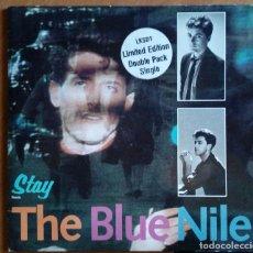 Discos de vinilo: THE BLUE NILE - STAY DOBLE SINGLE 1984. Lote 194693205