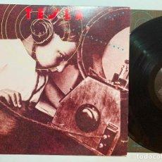 Discos de vinilo: LP TESLA – THE GREAT RADIO CONTROVERSY EDICION ORIGINAL USA DE 1989. Lote 194693285