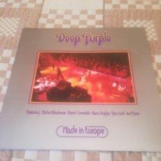 Discos de vinilo: DEEP PURPLE.MADE IN EUROPE. PURPLE RECORDS 10 C 064-98181.EDICIÓN ESPAÑOLA 1976.IMPECABLE.. Lote 194694626