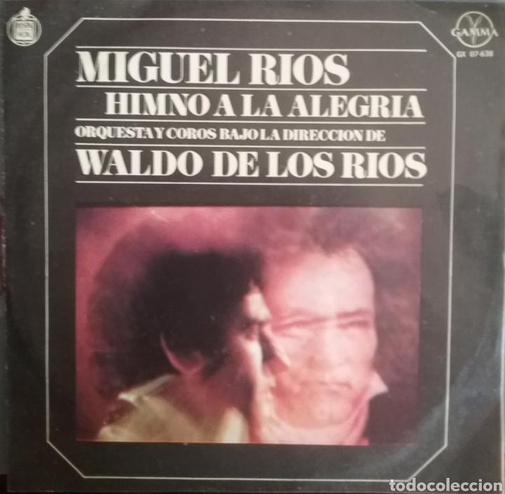 MIGUEL RÍOS. EP. SELLO HISPAVOX / GAMMA. EDITADO EN MÉXICO. (Música - Discos de Vinilo - EPs - Solistas Españoles de los 70 a la actualidad)