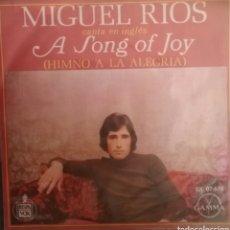 Discos de vinilo: MIGUEL RÍOS ( CANTA EN INGLÉS). EP. SELLO HISPAVOX/GAMMA. EDITADO EN MÉXICO. Lote 194695752