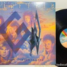 Discos de vinilo: LP GIUFFRIA – SILK + STEEL EDICION USA DE 1986. Lote 194695770