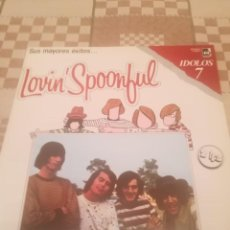 Discos de vinilo: LOVIN' SPOONFUL. SUS MAYORES EXITOS. SERIE IDOLOS 7. BUDDAH RECORDS C 7836/7.ESPAÑA 1978.IMPECABLE.. Lote 194697810