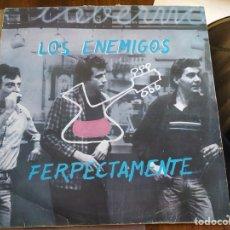 Discos de vinilo: DISCO VINILO LOS ENEMIGOS. Lote 194700443