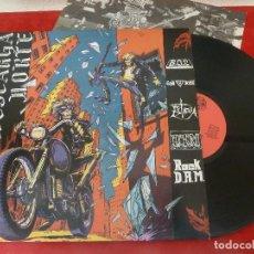 Discos de vinilo: LP/VINILO-DESCARGA NORTE-ROCK D.A.M/UTM/ESTIGIA/CAID DECEIT/BO 2-1988·DISCOS SUICIDAS (HARD-HEAVY-PU. Lote 194700971