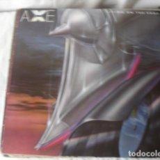 Discos de vinilo: AXE LIVING ON THE EDGE . Lote 194701043