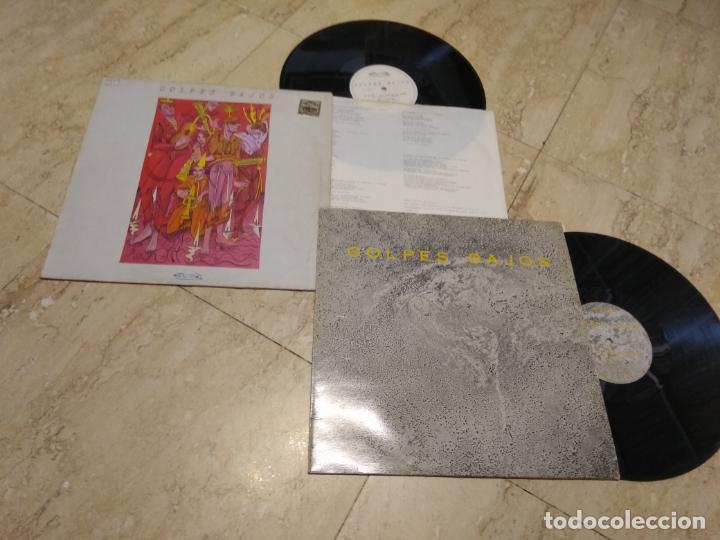 GOLPES BAJOS-NO MIRES A LOS OJOS DE LA GENTE-+ MAXI-COLECCIONO MOSCAS (Música - Discos de Vinilo - Maxi Singles - Grupos Españoles de los 70 y 80)