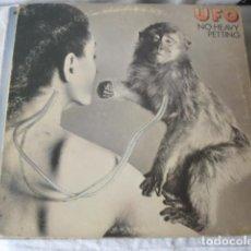 Discos de vinilo: UFO NO HEAVY PETTING. Lote 194702275