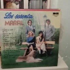 Discos de vinilo: LOS SESENTA MARFIL. Lote 194702748
