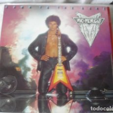 Discos de vinilo: VIC VERGAT DOWN TO THE BONE. Lote 194703135