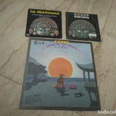 Discos de vinilo: JOSE MARIA MOLL-MAXI LA CASA DEL SOL NACIENTE + DOS SINGLES. Lote 194703227