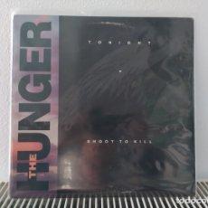 Discos de vinilo: MAXISINGLE VINILO THE HUNGER IMPORTACIÓN. Lote 194703353