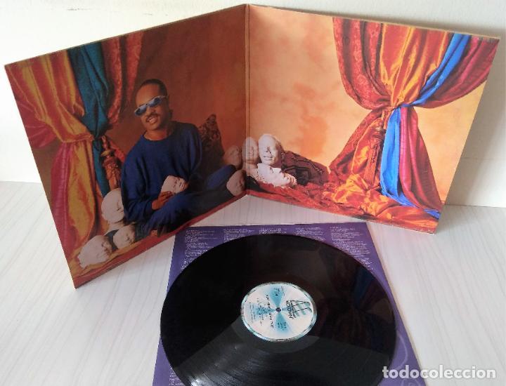 Discos de vinilo: STEVIE WONDER - CHARACTERS MOTOWN - 1987 GAT - Foto 2 - 194704378