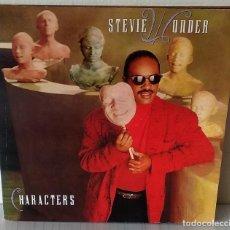 Discos de vinilo: STEVIE WONDER - CHARACTERS MOTOWN - 1987 GAT. Lote 194704378