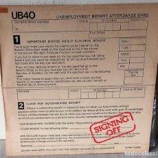 Discos de vinilo: UB 40 - SIGNING OFF GRADUATE - 1980 . Lote 194704807