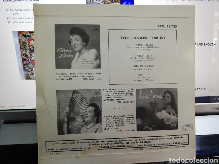 Discos de vinilo: The Brian twist ep España 1962 - Foto 2 - 194704878