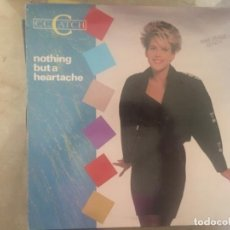 Discos de vinilo: C. C. CATCH: NOTHING BUT A HEARTACHE. Lote 194706950