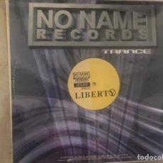 Discos de vinilo: NO NAME RÉCORDS: LIBERTY SEGURO. Lote 194708235