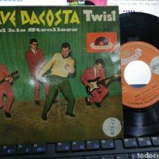 Discos de vinilo: DAVE DACOSTA TWIST EP PONY TIME + 3 ESPAÑA 1962. Lote 194709452