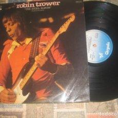 Discos de vinilo: ROBIN TROWER,THE STEEL ALBUM,(CHRISALIS,1981,) EDITADO ESPAÑA. Lote 194711090