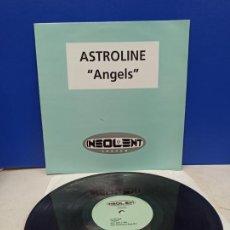 Discos de vinilo: MAXI SINGLE DISCO VINILO ASTROLINE ANGELS. Lote 194711623