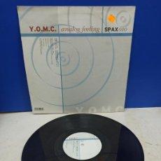 Discos de vinilo: MAXI SINGLE DISCO VINILO Y.O.M.C ANALOG FEELING. Lote 194712376