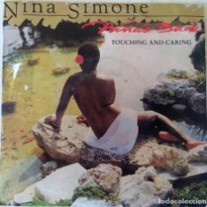 Discos de vinilo: NINA SIMONE - TOUCHING AND CARING GRIND PROMOCIONAL - 1988. Lote 194712407