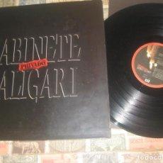 Discos de vinilo: GABINETE CALIGARI - PRIVADO - PORTADA DOBLE (EMI1989)OG ESPAÑA. Lote 194712597
