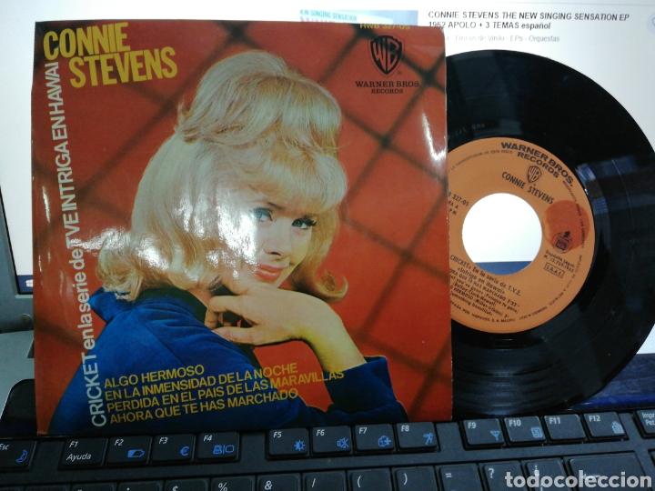 CONNIE STEVENS EP ALGO HERMOSO + 3 ESPAÑA 1965 (Música - Discos de Vinilo - EPs - Pop - Rock Extranjero de los 50 y 60)