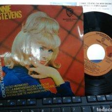 Discos de vinilo: CONNIE STEVENS EP ALGO HERMOSO + 3 ESPAÑA 1965. Lote 194712787