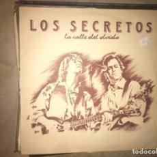 Discos de vinilo: LOS SECRETOS: LA CALLE DEL OLVIDO. Lote 194713350
