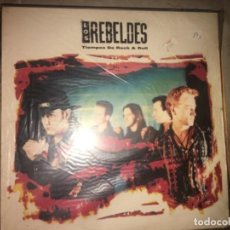 Discos de vinilo: LOS REBELDES: TIEMPOS DE ROCK AND ROLL. Lote 194713616