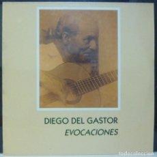 Discos de vinilo: DIEGO DEL GASTOR // EVOCACIONES // 1990 // (VG VG). LP. Lote 194714128