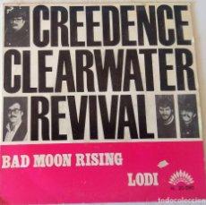 Discos de vinilo: CREDENCE CLEARWATER REVIVAL - BAD MOON AMERICA - 1969. Lote 194714256
