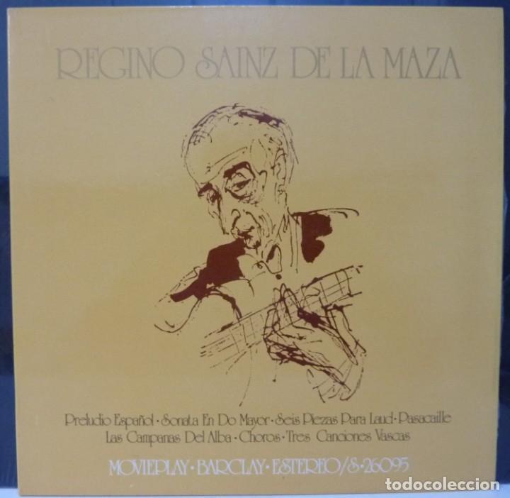 REGINO SAINZ DE LA MAZA // 1971 //PORTADA DOBLE //(VG VG). LP (Música - Discos - LP Vinilo - Flamenco, Canción española y Cuplé)