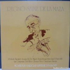 Discos de vinilo: REGINO SAINZ DE LA MAZA // 1971 //PORTADA DOBLE //(VG VG). LP. Lote 194714475