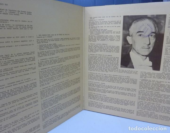 Discos de vinilo: REGINO SAINZ DE LA MAZA // 1971 //PORTADA DOBLE //(VG VG). LP - Foto 2 - 194714475