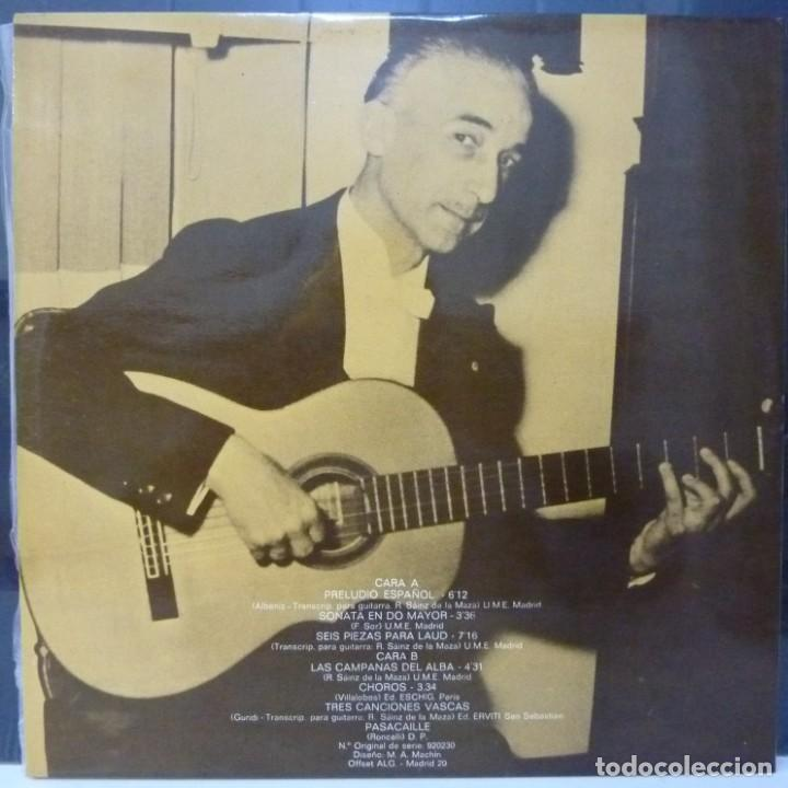 Discos de vinilo: REGINO SAINZ DE LA MAZA // 1971 //PORTADA DOBLE //(VG VG). LP - Foto 3 - 194714475