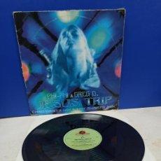 Discos de vinilo: MAXI SINGLE DISCO VINILO PHI PHI AND GREG D. JESUS TRIP. Lote 194714960