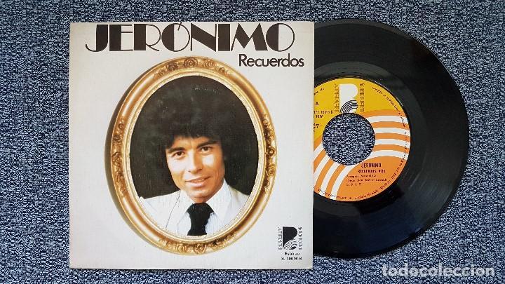 JERÓNIMO - RECUERDOS / DIALOGO. EDITADO POR BEVERLY RECORDS. AÑO 1.976 (Música - Discos - Singles Vinilo - Grupos y Solistas de latinoamérica)