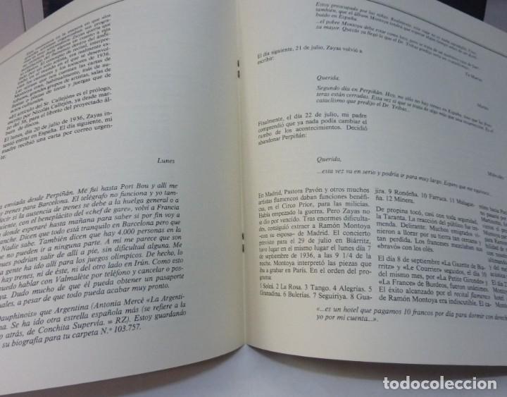 Discos de vinilo: RAMON MONTOYA /MANOLO EL DE HUELVA / III BIENAL DE ARTE FLAMENCO/ LIBRETO/1984/DISCO DOBLE/ LP - Foto 5 - 194715805