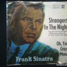 Discos de vinilo: FRANK SINATRA - STRANGERS IN THE NIGHT . Lote 194715998