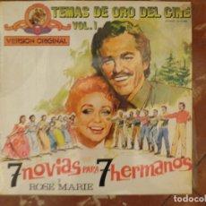 Discos de vinilo: 7 NOVIAS PARA 7 HERMANOS. Lote 194717082