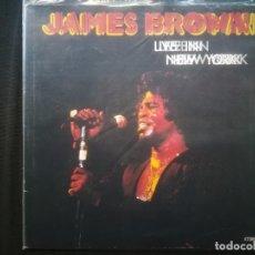 Discos de vinilo: JAMES BROWN - LIVE IN NEW YORK. Lote 194717738