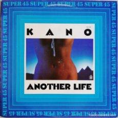Discos de vinilo: KANO – ANOTHER LIFE DANCE SCHOOL, HISPAVOX 549 037, CON HOJA PROMOCIONAL. Lote 194717888