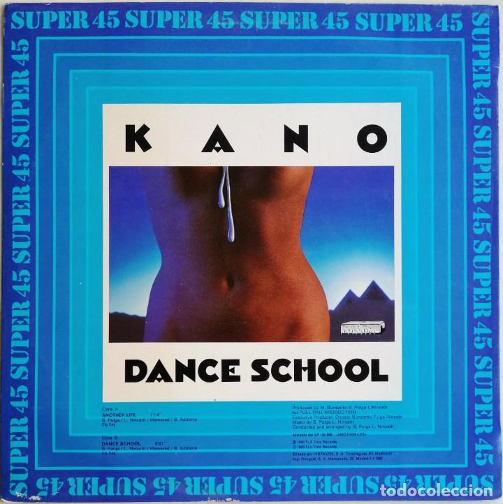 Discos de vinilo: Kano – Another Life Dance School, Hispavox 549 037, CON HOJA PROMOCIONAL - Foto 2 - 194717888