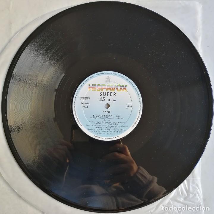 Discos de vinilo: Kano-Another Life Dance School, Hispavox 549 037, CON HOJA PROMOCIONAL - Foto 3 - 194717888